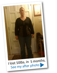 Lost 50lbs.